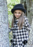 Girl In Tree Royalty Free Stock Images