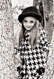Girl In Tree Stock Photos