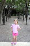 Girl Among Trees Royalty Free Stock Photo