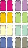Girl tshirt Stock Images