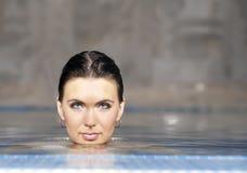 Girl in the tub Stock Image