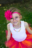 Girl in a tutu. Royalty Free Stock Photos