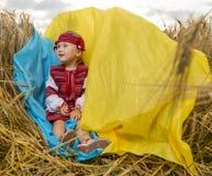 Girl in Ukrainian national costume Royalty Free Stock Photos