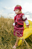 Girl in Ukrainian national costume Stock Photography