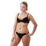 Girl in underwear Stock Photo
