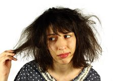Bad hair day Stock Photos