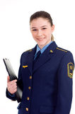 Girl in uniform Royalty Free Stock Image