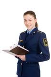 Girl in uniform Stock Photo
