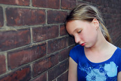 Girl Upset Stock Photo