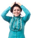 Girl upset Stock Image