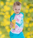 Girl on vacation Royalty Free Stock Photos
