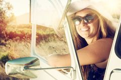 Girl on vacations Royalty Free Stock Image