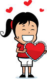 Girl Valentine Royalty Free Stock Images