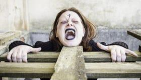 Girl vampire Royalty Free Stock Photography