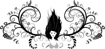 Girl Vector Stock Photography