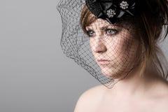 Girl in Veil Stock Photos