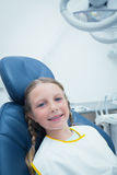 Girl waiting for dental exam Royalty Free Stock Photo
