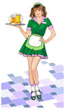 Girl_waitress Stock Photos