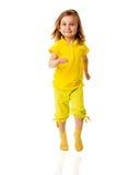 Girl walking Royalty Free Stock Image