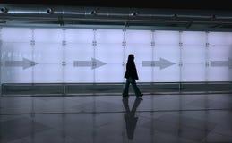 Girl walking Stock Photography