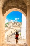 Modica walk royalty free stock images