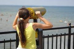 Girl Watching Stock Photos