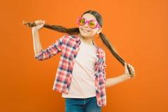 Girl wear eyeglasses. Ultraviolet protection crucial while polarization more preference. Optics and eyesight. Child. Happy good eyesight. Summer accessory stock images
