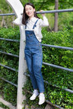 Girl wearing casual clothes Stock Photo