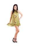 Girl wearing a summer dress Stock Photo