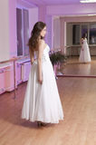 Girl in wedding dress Stock Photo