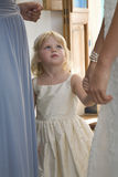 Girl At Wedding Reception Royalty Free Stock Image