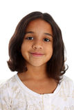 Girl On White Background Royalty Free Stock Photo