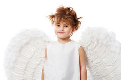 Girl with wings Stock Photo