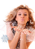 Girl winter Royalty Free Stock Images