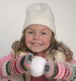 Girl winter Royalty Free Stock Image