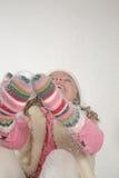 Girl winter Stock Photos