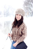 Girl in winter Royalty Free Stock Photography