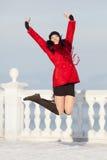 Girl at winter Royalty Free Stock Image