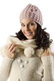 Girl in winter dress Stock Photo