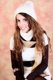 Girl winter portrait Royalty Free Stock Photo