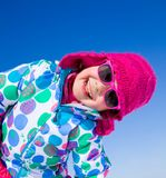 Girl in wintertime Royalty Free Stock Photos