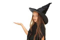 Girl witch Royalty Free Stock Photos