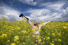 Free Girl With A Camera Royalty Free Stock Images - 13725069