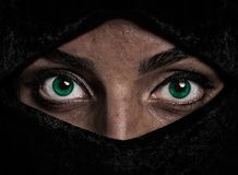 Girl With Green Eyes Royalty Free Stock Photo