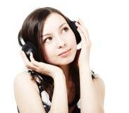 Free Girl With Headphones Stock Photos - 14670633