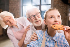 Free Girl With Homemade Cookie Stock Photo - 93469810