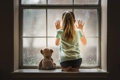 Free Girl With Teddy Bear Stock Photos - 120299993
