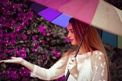 Free Girl With Umbrella. Royalty Free Stock Photo - 217365875