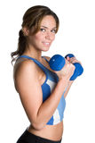 Girl Working Out Royalty Free Stock Photography