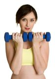 Girl Working Out Stock Photo